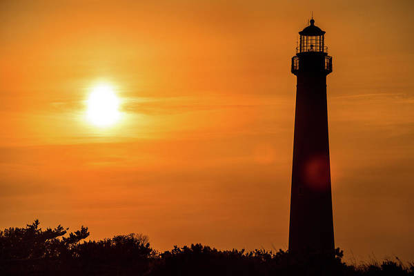 Photograph - Another Cape May Lighthouse Sunset by Don Johnson