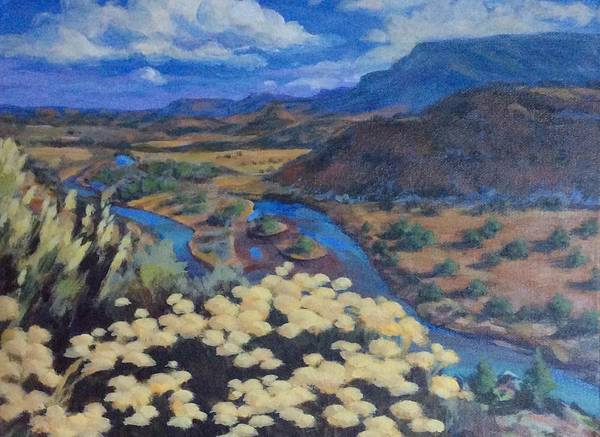 Another Day Above Rio Chama Art Print