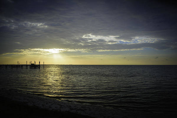 Photograph - Another Day Dawning In Carrabelle Florida by Judy Hall-Folde