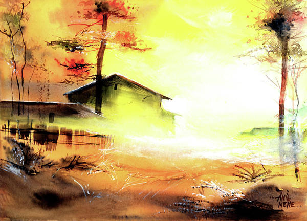 Painting - Another Good Morning by Anil Nene