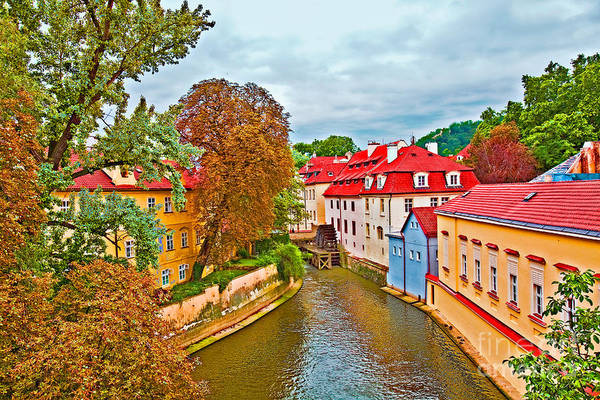 Houses Wall Art - Photograph - Another Look At The Red Roofs Of Prague by Madeline Ellis