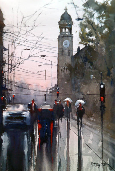 Wall Art - Painting - Another Rainy Day by Ryan Radke