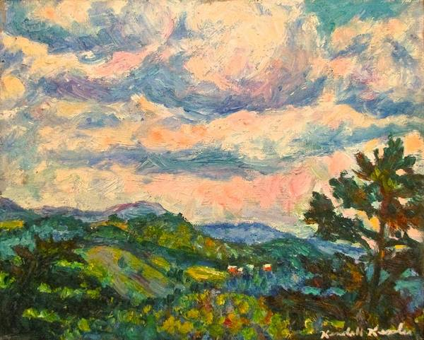 Painting - Another Rocky Knob by Kendall Kessler