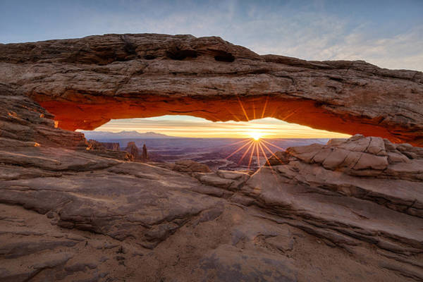 Photograph - Another Sunrise At Mesa Arch by Denise Bush