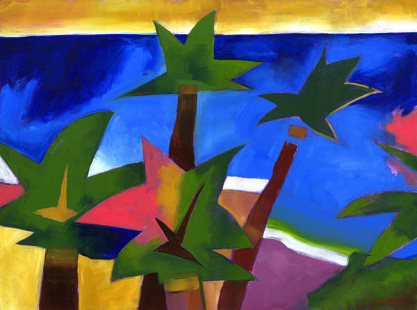 Coconut Painting - Another Waikiki by Douglas Simonson