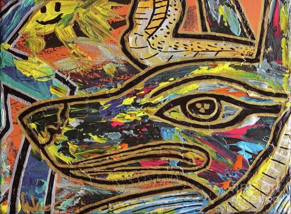 Painting - Anpu by Odalo Wasikhongo