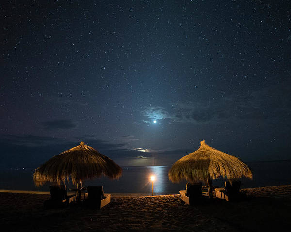 Photograph - Anse Chastanet Sitting And Watching Venus Under The Stars Saint Lucia Caribbean by Toby McGuire