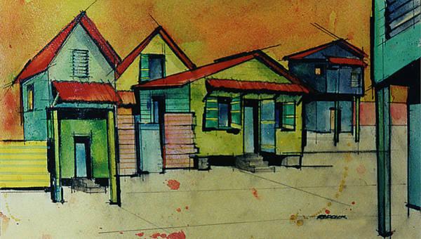 Saint Lucia Painting - Anse La Raye - Saint Lucia 2 by Gary Reddick