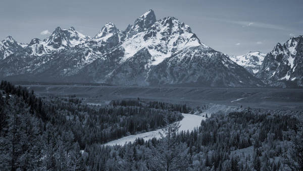 Photograph - Ansel Adams View Of The Tetons by Dan Sproul