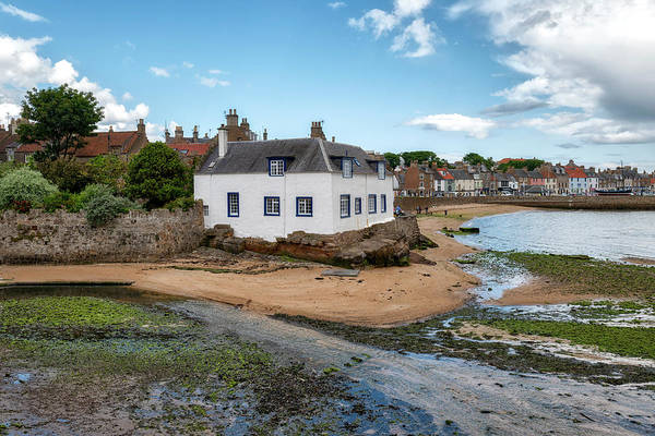 Photograph - Anstruther Harbour In Fife by Jeremy Lavender Photography