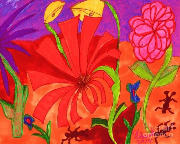 Ant Mixed Media - Ant Hill by Elinor Helen Rakowski