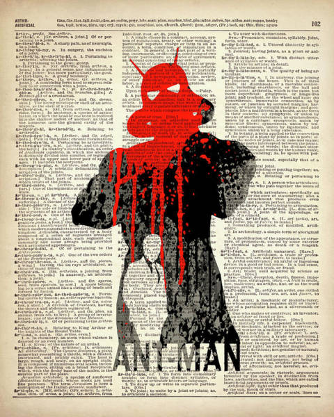 Ant Man Painting - Ant-man by Art Popop