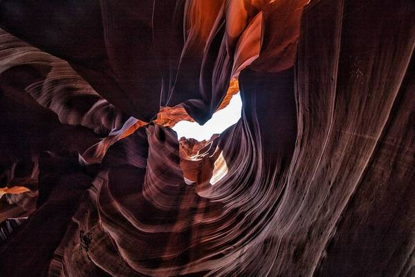 Photograph - Antelope Canyon by Mike Dunn