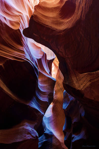 Photograph - Antelope Canyon Squeeze by Peter Kennett