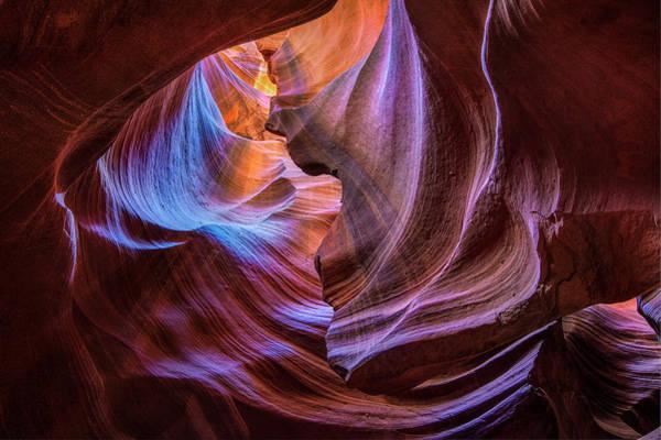Photograph - Antelope Canyon Swirl by Michael Ash
