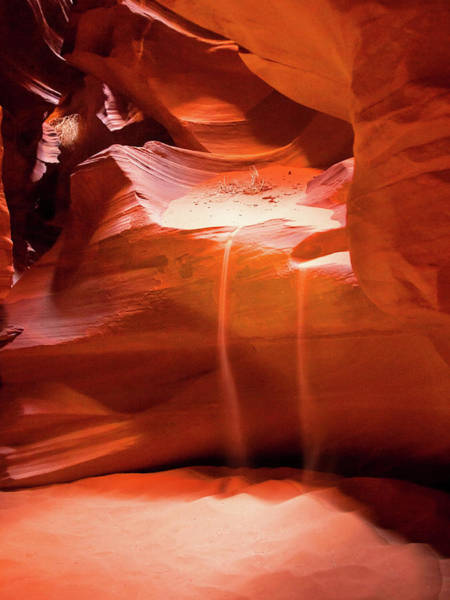 Antelope Canyon - The Falls Art Print