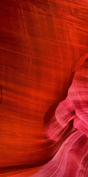Photograph - Antelope Canyon Triptych Left Panel by Greg Norrell