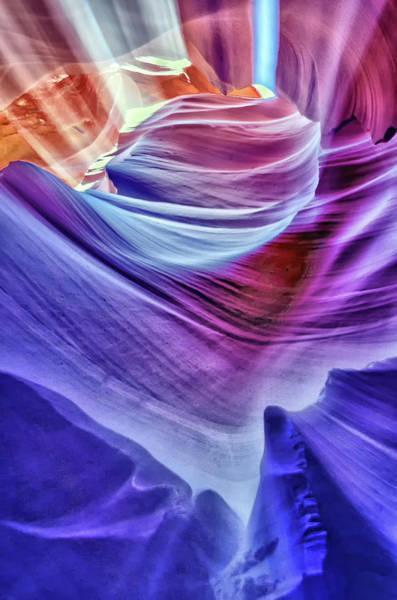 Wall Art - Photograph - Antelope Canyon  by Winnie Chrzanowski