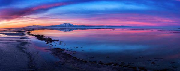 Photograph - Antelope Island Sunrise by Michael Ash