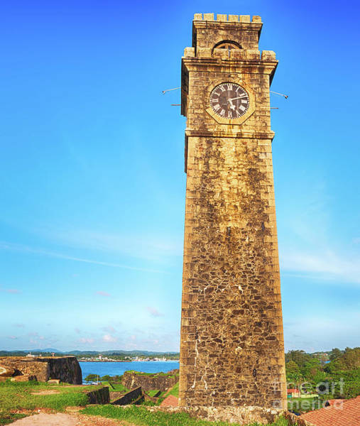 Srilanka Wall Art - Photograph - Anthonisz Memorial Clock Tower In Galle, Sri Lanka by MotHaiBaPhoto Prints