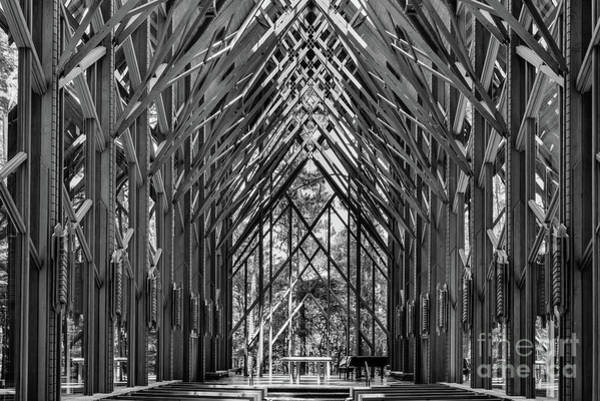 Eureka Springs Photograph - Anthony Chapel by Paul Quinn