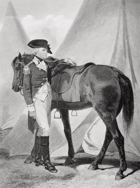 Alonzo Drawing - Anthony Wayne 1745-1796. Officer In by Vintage Design Pics