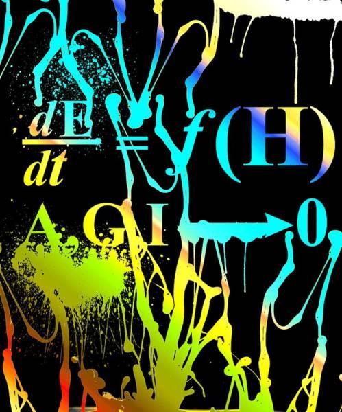 Digital Art - Anthro Equation by Robert G Kernodle