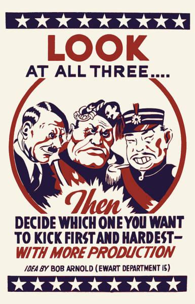 Wall Art - Photograph - Anti Axis Powers Propaganda  by Daniel Hagerman