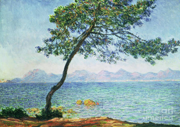 South Beach Painting - Antibes by Claude Monet