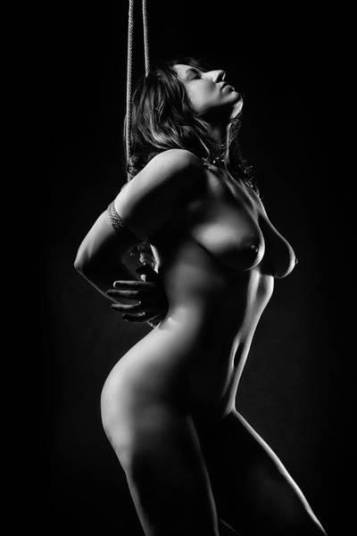 Erotic Photograph - Anticipating by David April