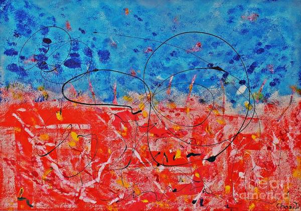 Interaction Painting - Anticipation by Chani Demuijlder