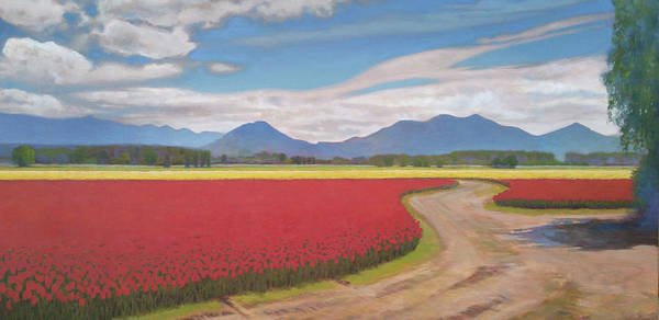 Skagit Valley Painting - Anticipation by Jennifer Ann McGill