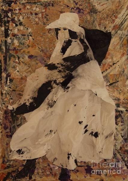Paper Dress Mixed Media - Anticipation by Nancy Kane Chapman