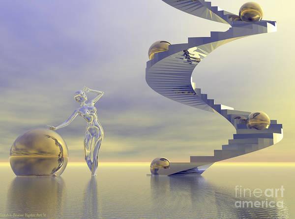 Anticipation Digital Art - Anticipation by Sandra Bauser Digital Art