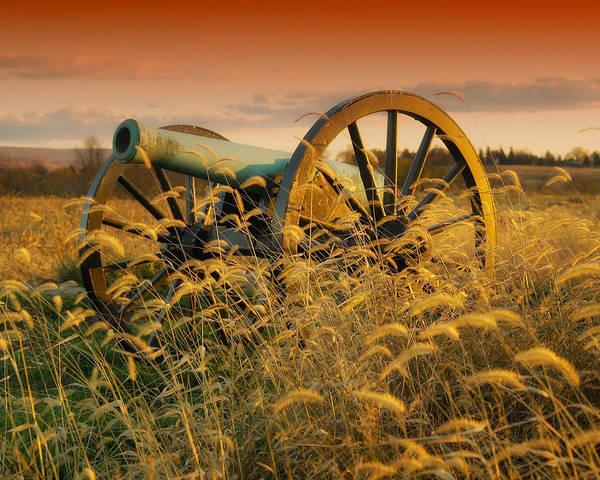 Antietam Photograph - Antietam Battleground At Dusk by Mountain Dreams