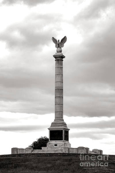 Antietam Photograph - Antietam National Battlefield New York State Monument by Olivier Le Queinec