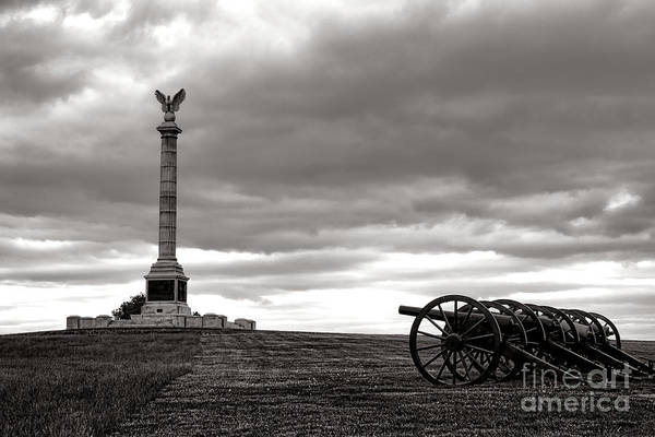 Homage Photograph - Antietam Silence  by Olivier Le Queinec