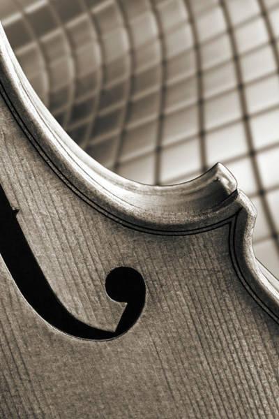 Photograph - Antique Violin 1732.74 by M K Miller
