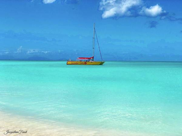 Photograph - Antigua Blues by Jacqueline Faust