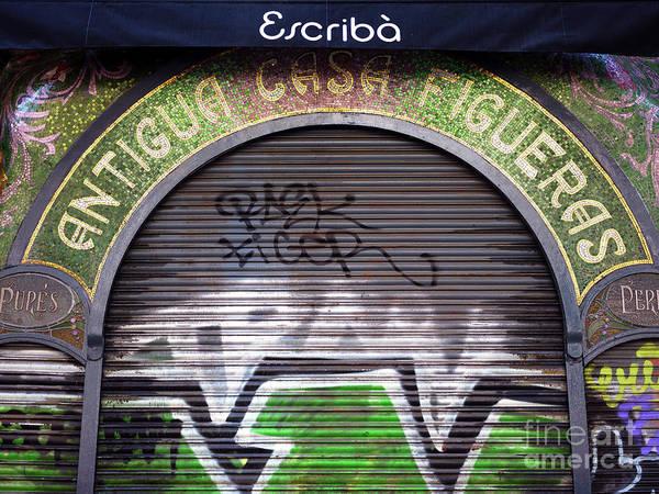 Photograph - Antigua Casa Figueras Barcelona by John Rizzuto