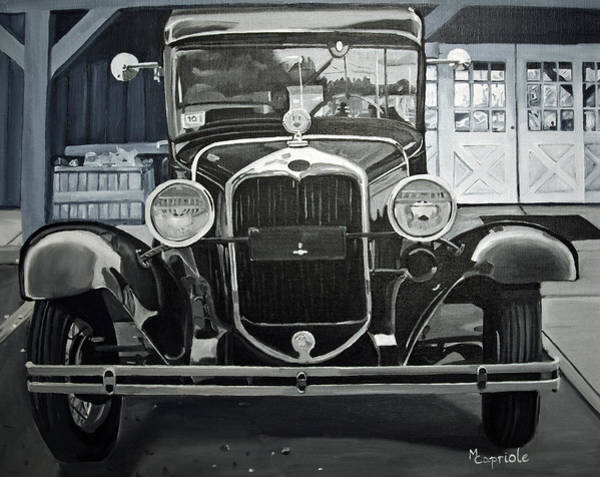 Painting - Antique At Mann's by Mary Capriole