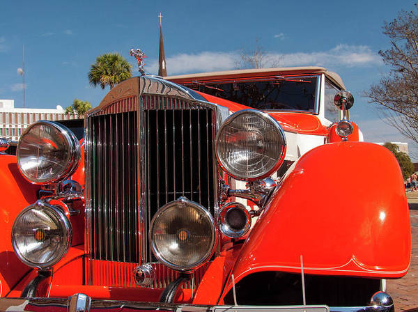 Photograph - Antique Automobile by Louis Dallara
