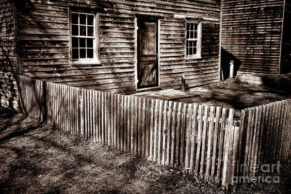 Wood Siding Wall Art - Photograph - Antique Batsto by Olivier Le Queinec