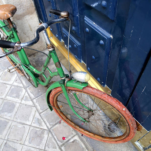 Photograph - Antique Bicycle 2 by Andrew Fare