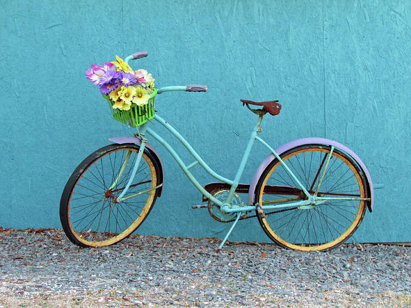 Photograph - Antique Bicycle by Cynthia Guinn