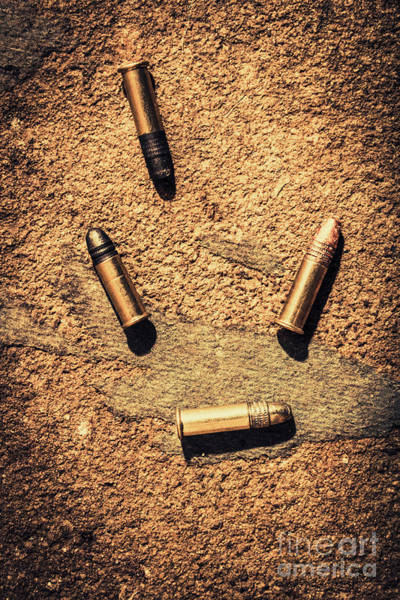 Wall Art - Photograph - Antique Bullet Art by Jorgo Photography - Wall Art Gallery
