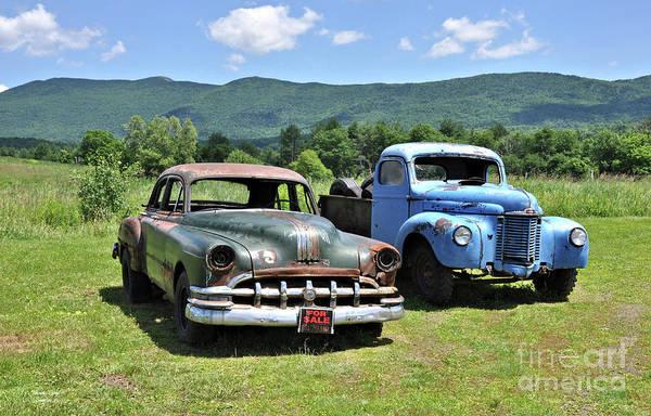 Waterbury Photograph - Antique Cars  by Wanda-Lynn Searles