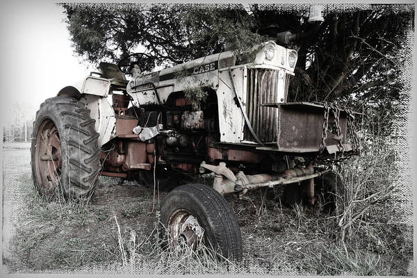 Photograph - Antique Case Tractor by Patricia Montgomery