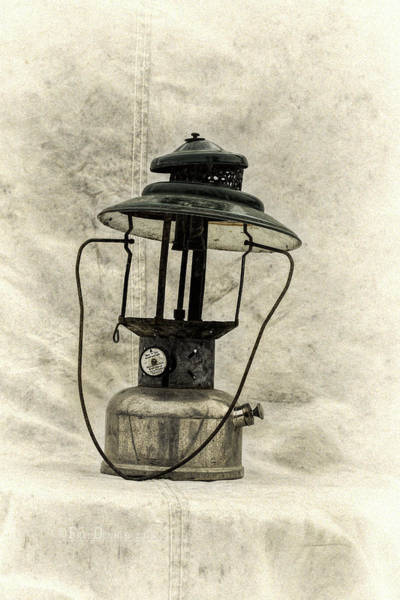 Photograph - Antique Coleman Lantern by Fred Denner