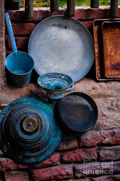 Photograph - Antique Cookware by Gary Keesler